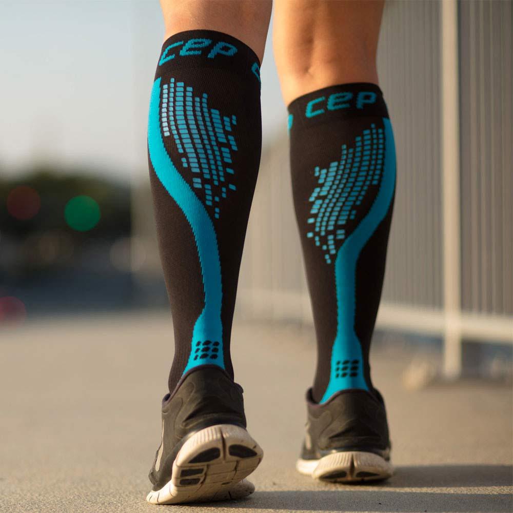Calze sportive a compressione graduata